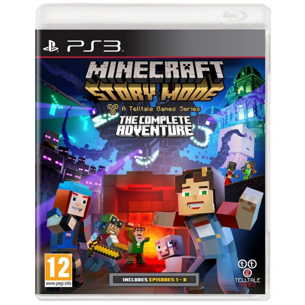 Microsoft Tv-Spel Minecraft - Story Mode The Complete Adventure från Microsoft
