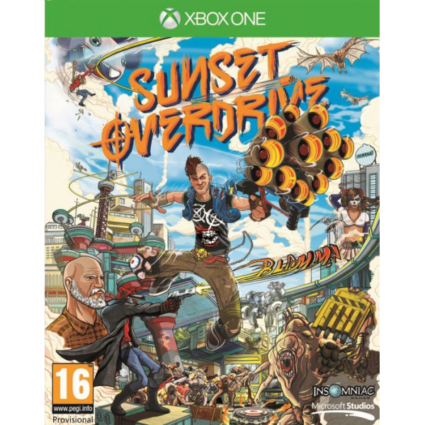Microsoft Tv-Spel Sunset Overdrive xbox One från Microsoft