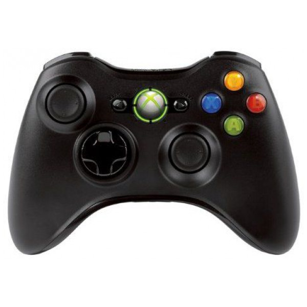 Microsoft Tv-Spel Xbox 360 Controller Wireless Black från Microsoft
