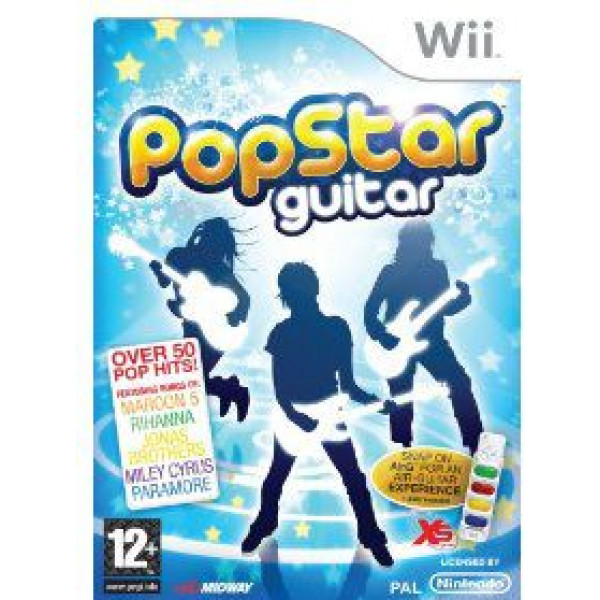 Midway Tv-Spel Popstar Guitar från Midway