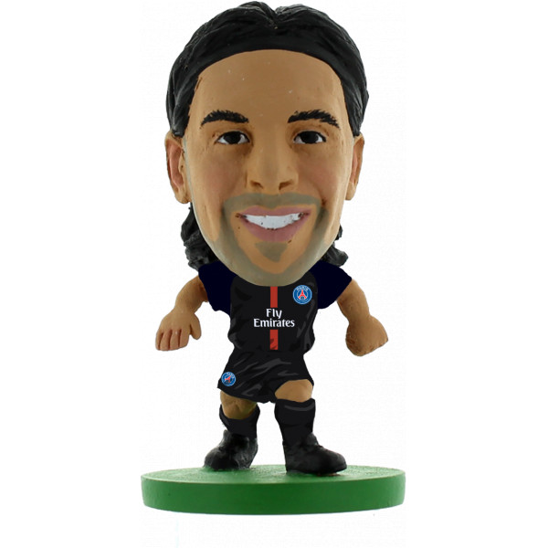 Miniatyrfigur Soccerstarz - Paris St Germain Javier Pastore - Home Kit 2018 Version från Inget märke