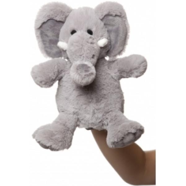 Molli Toys Gosedjur Handdocka Elefant från Molli toys