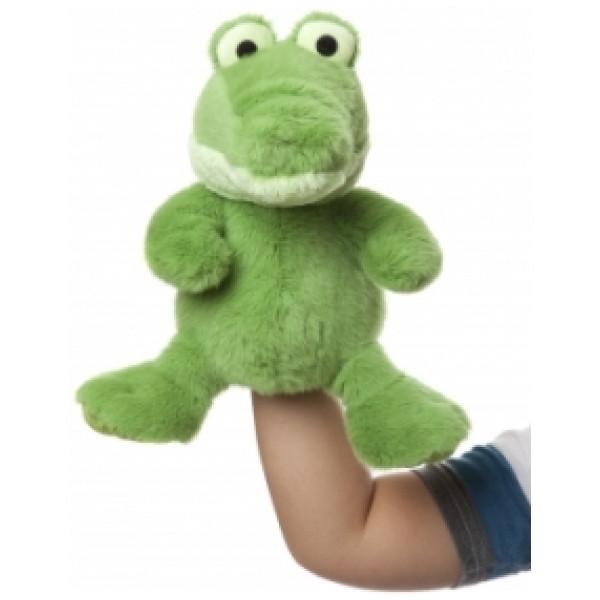 Molli Toys Gosedjur Handdocka Krokodil från Molli toys