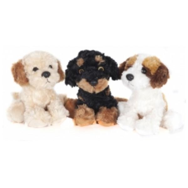 Molli Toys Gosedjur Småhundar från Molli toys