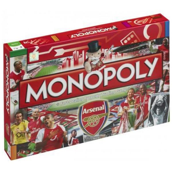 Monopoly Sällskapsspel Arsenal Edition från Monopoly