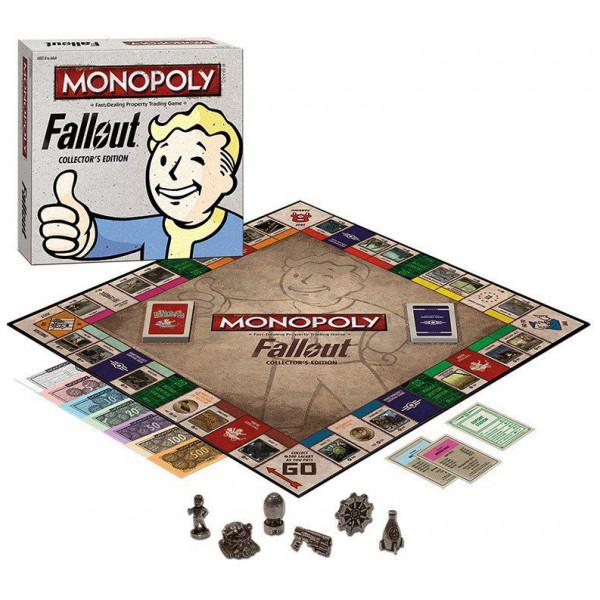 Monopoly Sällskapsspel Fallout Collector's Edition från Monopoly