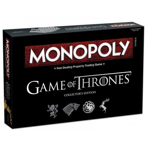 Monopoly Sällskapsspel Game Of Thrones Collectors Edition från Monopoly