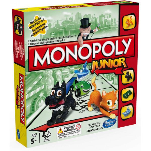 Monopoly Sällskapsspel Hasbro - Junior Refresh Dkno A6984 från Monopoly