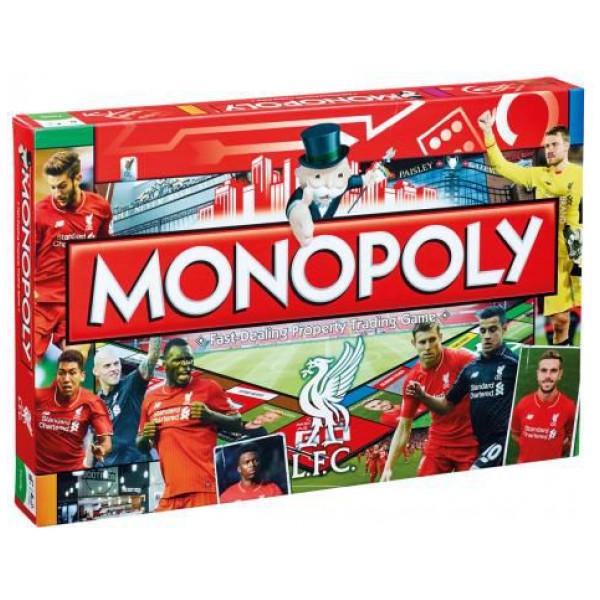 Monopoly Sällskapsspel Liverpool Edition från Monopoly