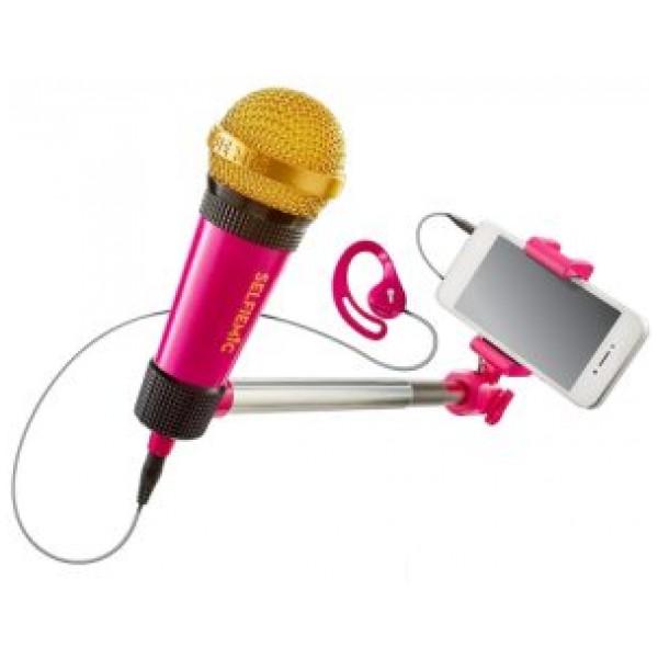 Musikleksak Mikrofon Selfie Karaoke från Inget märke