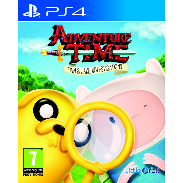 Namco Tv-Spel Adventure Time Finn And Jake Investigations från Namco