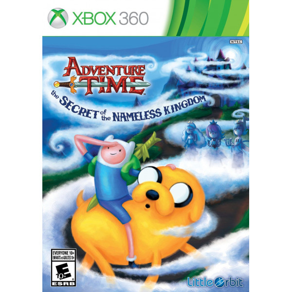 Namco Tv-Spel Adventure Time The Secret Of The Nameless Kingdom från Namco