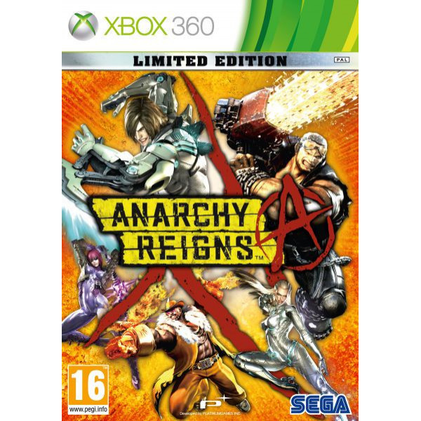 Namco Tv-Spel Anarchy Reigns - Limited Edition från Namco