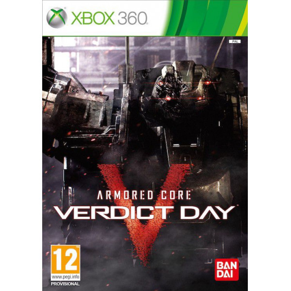 Namco Tv-Spel Armored Core Verdict Day från Namco