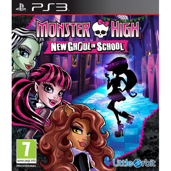 Namco Tv-Spel Monster High New Ghoul In School från Namco