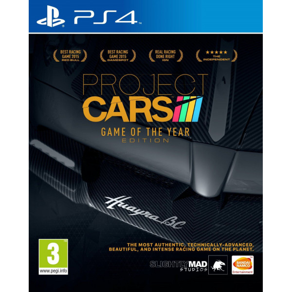 Namco Tv-Spel Project Cars - Game Of The Year från Namco