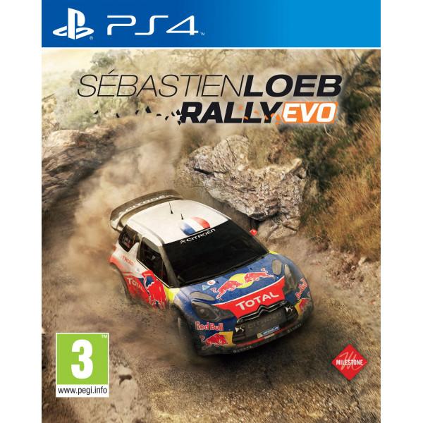 Namco Tv-Spel Sébastien Loeb - Rally Evo från Namco