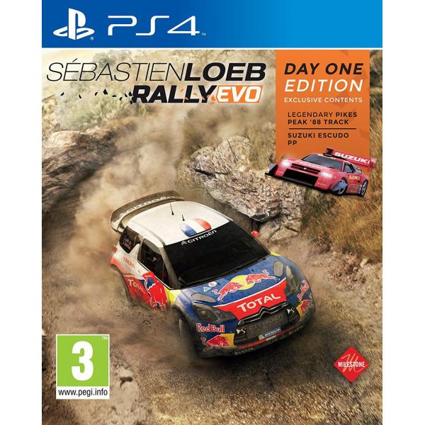 Namco Tv-Spel Sébastien Loeb - Rally Evo - Day 1 Edition från Namco