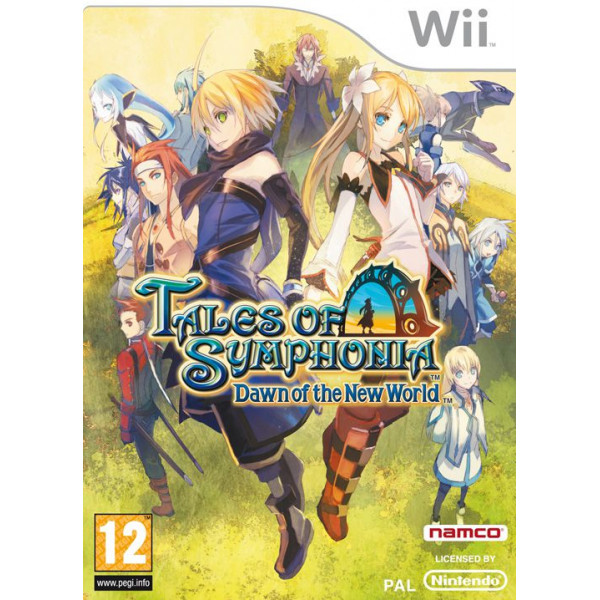 Namco Tv-Spel Tales Of Symphonia Dawn Of The New World från Namco