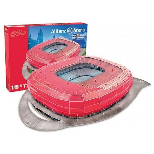Nanostad Pussel Allianz Arena - Fc Bayern Munich 118Pcs 49001 från Nanostad