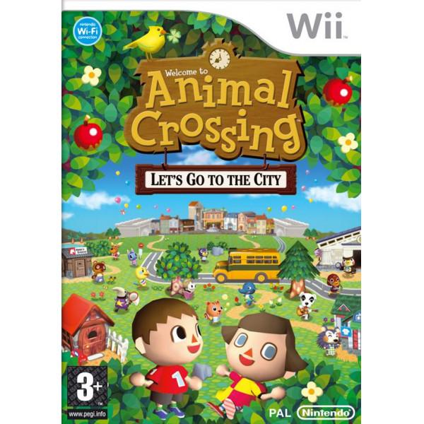 Nintendo Tv-Spel Animal Crossing Lets Go To The City Aka City Folk från Nintendo