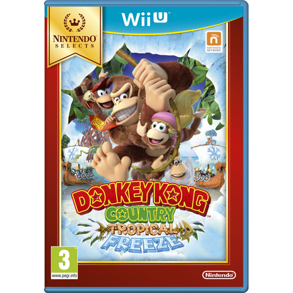Nintendo Tv-Spel Donkey Kong Country Returns - Tropical Freeze Selects från Nintendo