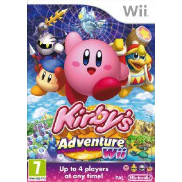 Nintendo Tv-Spel Kirby's Adventure från Nintendo