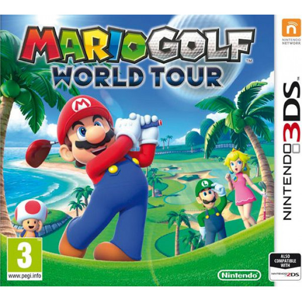 Nintendo Tv-Spel Mario Golf World Tour från Nintendo