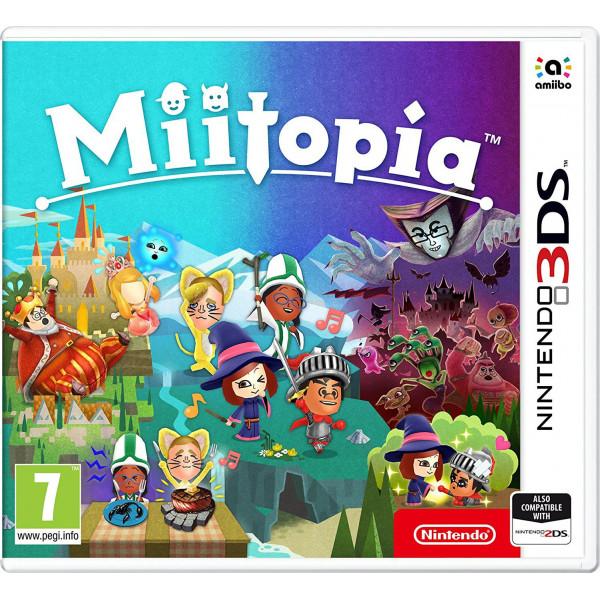Nintendo Tv-Spel Miitopia från Nintendo