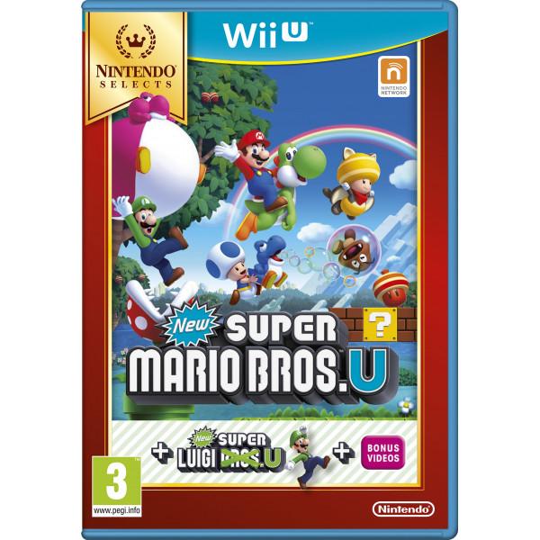 Nintendo Tv-Spel New Super Mario Bros And Luigi U Selects från Nintendo