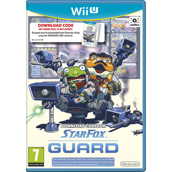Nintendo Tv-Spel Star Fox Guard Voucher från Nintendo