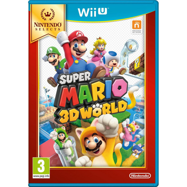 Nintendo Tv-Spel Super Mario 3D World Selects från Nintendo
