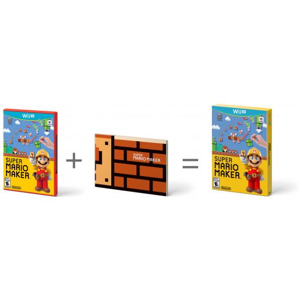 Nintendo Tv-Spel Super Mario Maker + Artbook från Nintendo