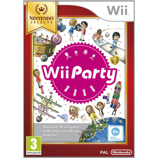 Nintendo Tv-Spel Wii Party Solus Selects från Nintendo