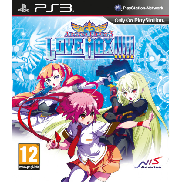 Nis Europe Tv-Spel Arcana Heart 3 Love Max från Nis europe