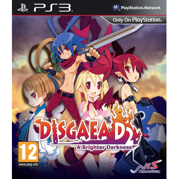 Nis Europe Tv-Spel Disgaea D2 A Brighter Darkness från Nis europe