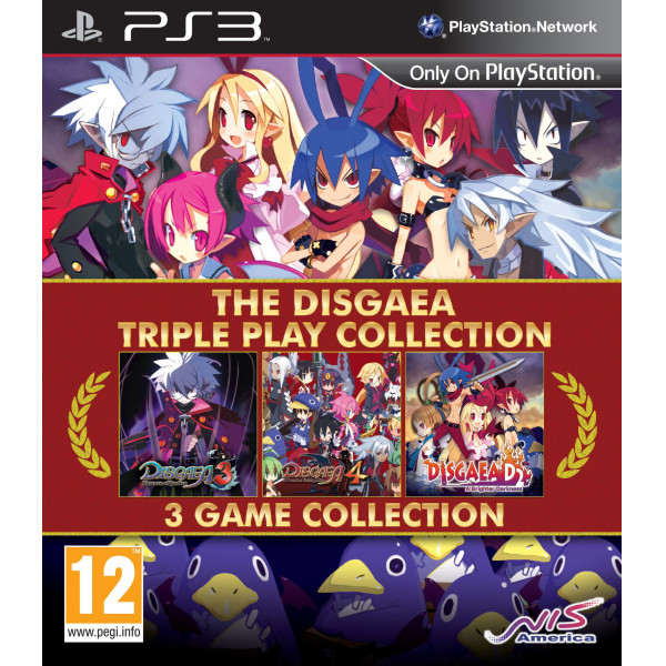 Nis Europe Tv-Spel The Disgaea Triple Play Collection från Nis europe