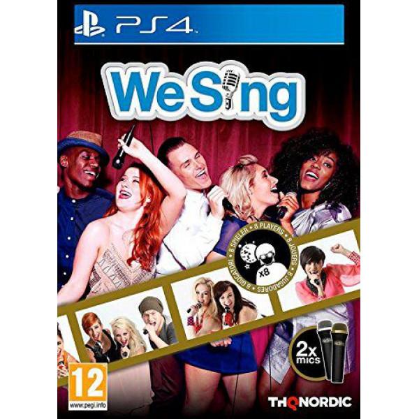Nordic Games Tv-Spel We Sing + 2-Mic Bundle från Nordic games