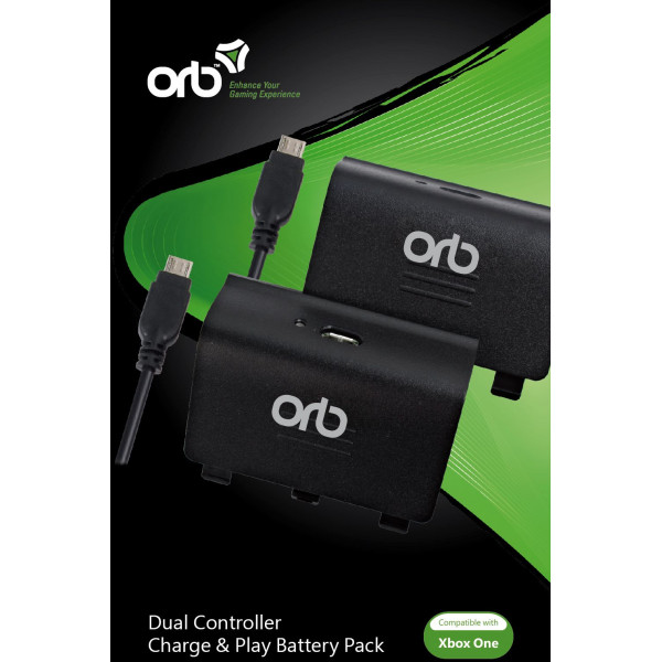 Orb Tv-Spel Dual Controller Charge And Play Battery Pack For Xbox One från Orb