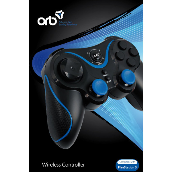 Orb Tv-Spel Playstation 3 - Bluetooth Wireless Controller från Orb