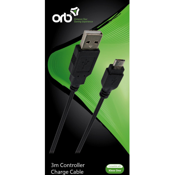 Orb Tv-Spel Xbox One - Controller Charge Cable 3M från Orb