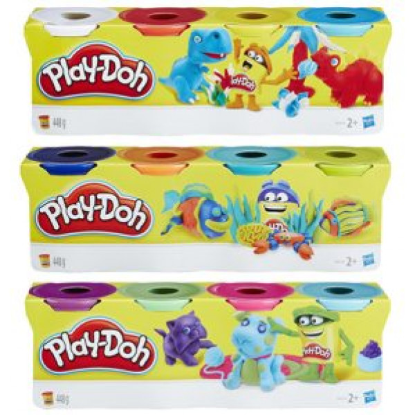 Play-Doh Lera 4-Pack från Play-doh