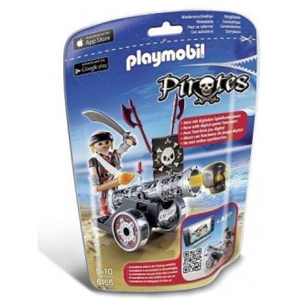 Playmobil Svart Kanon Med Pirat från Playmobil
