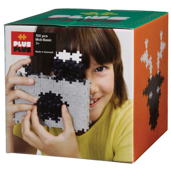 Plus Lego Midi Basic - 100 Bitar från Plus plus