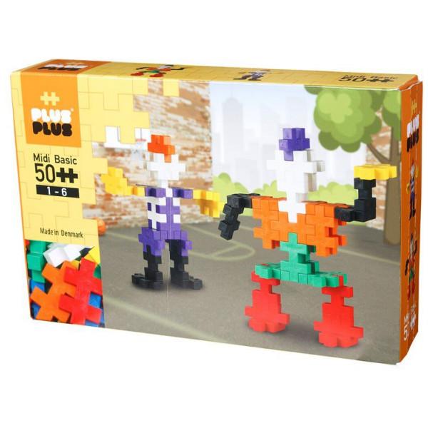 Plus Lego Midi Basic - 50 Stycket från Plus plus