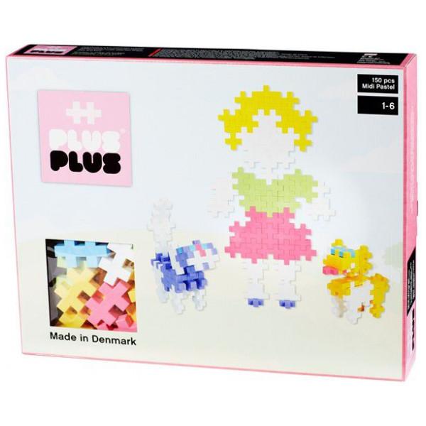 Plus Lego Midi Pastel - 150 Pcs 2-540 från Plus plus