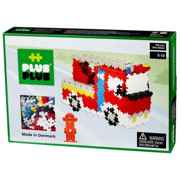 Plus Lego Mini Basic - Fire Rescue - 760 Pcs 2-590 från Plus plus