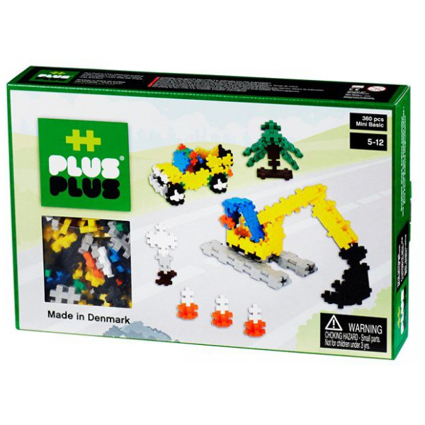 Plus Lego Mini Basic - Road Construction - 360 Pcs 2-589 från Plus plus