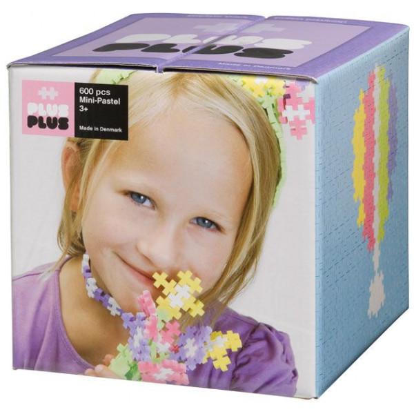 Plus Lego Mini Pastell - 600 Stycket från Plus plus