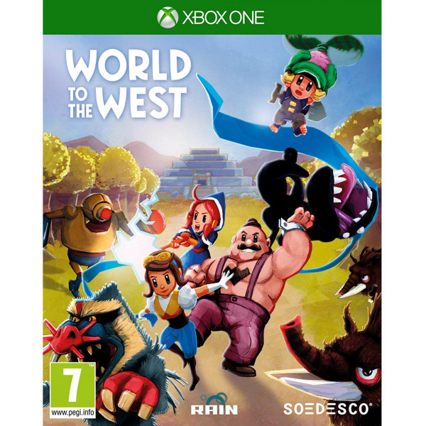 Rain Games Tv-Spel World To The West från Rain games